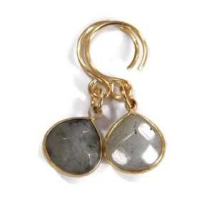 Handmade Genuine Gemstone Earrings